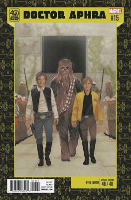 STAR WARS DOCTOR APHRA #15 40th ANNIVERSARY VARIANT PHIL NOTO #48/48