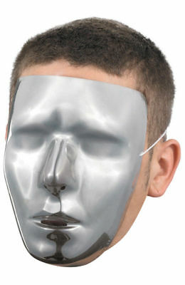 NPC Non-Playing-Character halloween mask - add sharpie nose, eyes, mouth
