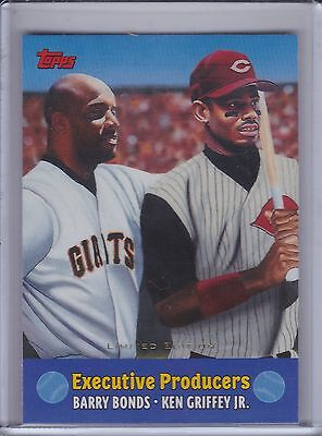 BARRY BONDS/KEN GRIFFEY Jr.  2000 Topps Limited Edition Combos #TC8 (B9999)