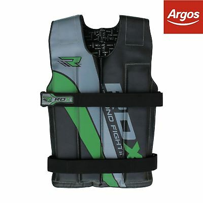 RDX 18kg Weighted Vest - Green.