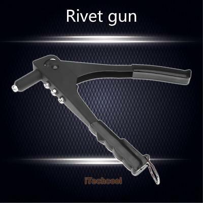 Steel Nut Rivet Riveter Tool Manual Blind Rivnut Nutsert Gun Riveting Hand Kit