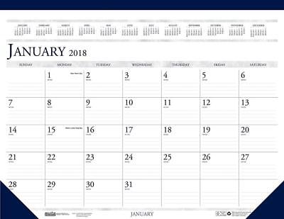 House of Doolittle 2018 Monthly Desk Pad Calendar, Classic, 22 x 17 Inches,...