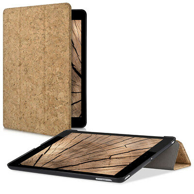 SMART COVER KORK BEZUG FÜR Apple iPad 9.7 (2017) Hellbraun HÜLLE CASE TABLET