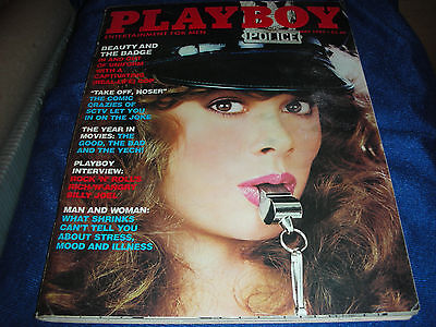 Playboy May 1982 Playmate Of Month Kym Malin ~ Cop Cover