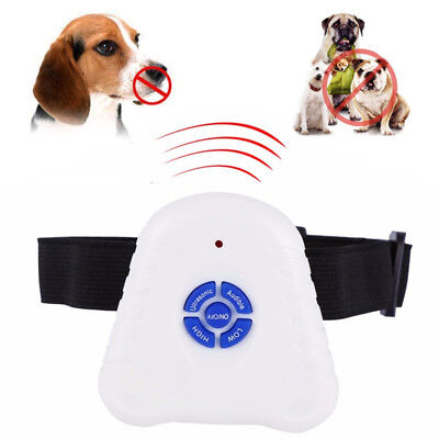 Barking Control Ultrasonic Dog Bark Stop Anti Barking Control Training Collar