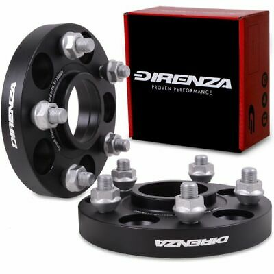 DIRENZA 20MM 5x114.3 66.1mm M12 WHEEL SPACERS PAIR NISSAN R35 GTR GT-R 08-15