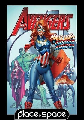 Avengers, Vol. 7 #8 - Exclusive J.scott Campbell Cvr A