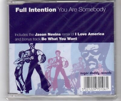 (HQ981) Full Intention, You Are Somebody - CD