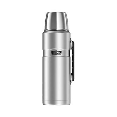 Thermos Stainless King 68 Oz Vacuum Insulated Beverage Bottle with Handle