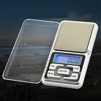 500g/0.01g Mini Digital LCD Electronic Jewelry Pocket Portable Weight Scale 9902