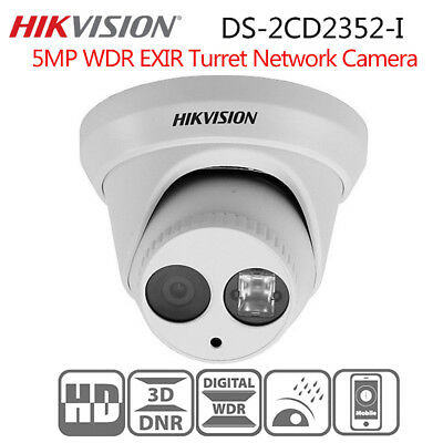 Network IP camera Dome HD ONVIF Security 2.8mm OEM DS-2CD2352WD-I 5 Megapixel