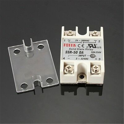 1 pc 24 380 vac 40 amp solid state relay 3 32 vdc input with large rh picclick com