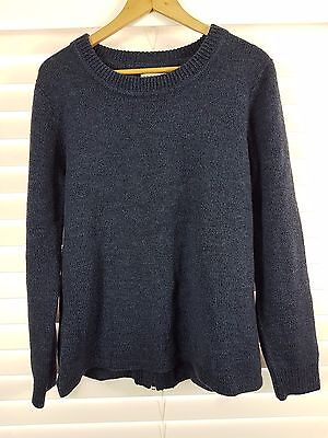ECOLOGY sz L (or 14 / 10 us) womens wool blend jumper RRP$250+ [#3845]