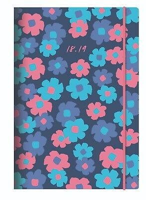 Collins A5 Blossom Academic Mid Year Week to View Diary 2018-19 CF53M
