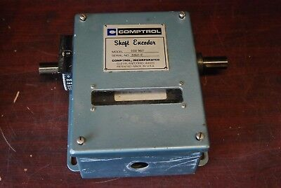 "Comptrol CCU-96 IT,     3/4"" shaft encoder,  Removed from working Machine"