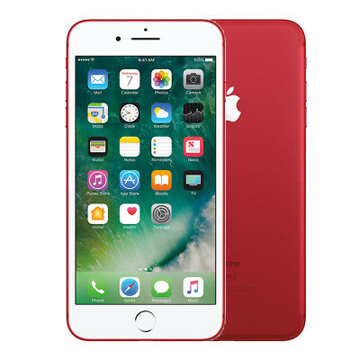 "Apple iPhone 7 Plus 256GB ""Factory Unlocked"" (PRODUCT)RED 4G LTE iOS Smartphone"