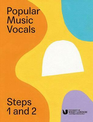 London College Of Music: Popular Music Vocals - Steps 1 & 2 Voice Sheet Music Vo