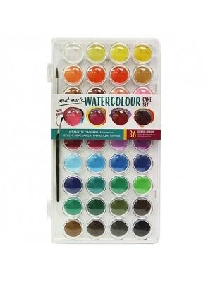 Mont Marte Watercolour Cake Set 36pce