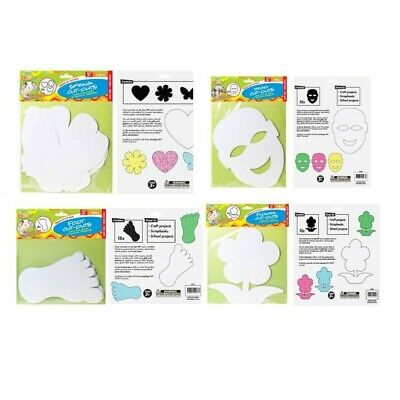 25cm Shape Cut-Outs Assorted, Ideal for Home or School Projects, Acid Free DYI