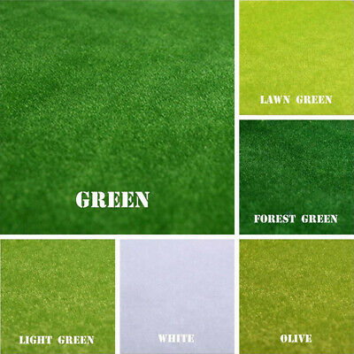 Grass Landscape Mat Rolls 25x25 4pcs For Wargame Scenery 00 Gauge Model Railways