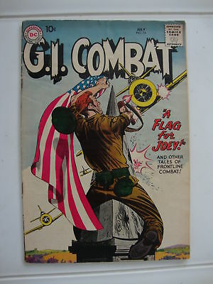 GI Combat #74 G+ A Flag For Joey