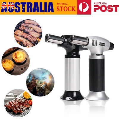 Creme Brulee Blow Torch Butane Gas Refillable Blowtorch Cooking Culinary Kitchen