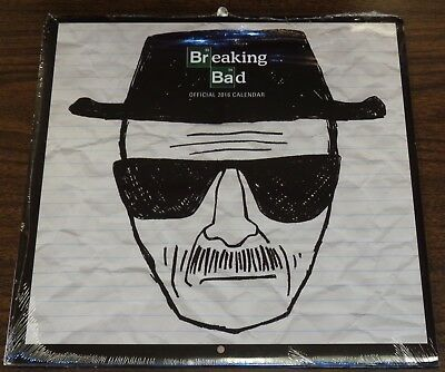 Breaking Bad Official 2016 Calendar Sony Pictures
