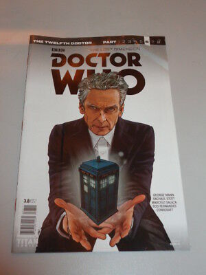 Doctor Who #3.8 Twelfth Doctor Lost Dimension Titan Cover A November 2017