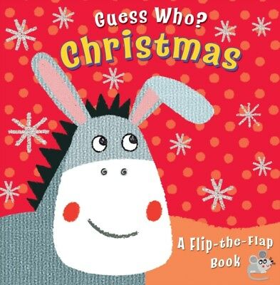 Guess Who? Christmas: A Flip-The-Flap Book (Board book), Goodings. 9780745964089