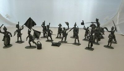 Diorama Great Army of Napoleon The Cross Metal figurine Soldier 1/32 Atlas MHSP