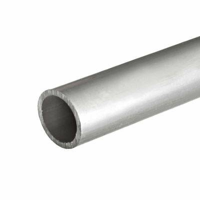 Anodized Aluminum Round Tube, OD: 4 inch, Length: 12 inches; Wall: 1/8 inch