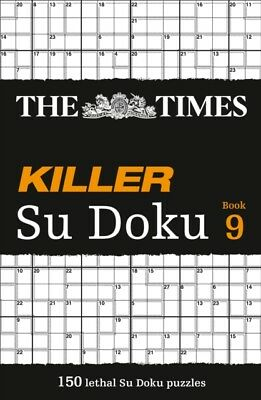 The Times Killer Su Doku Book 9 (Paperback), The Times Mind Games, 9780007465194