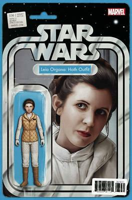 Star Wars #36 Christopher Action Figure Variant Princess Leia Organa Hoth Outfit