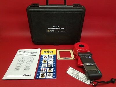 AEMC 3711 - Clamp-on Ground Resistance Tester With Case