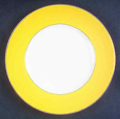 Lenox RUTHERFORD CIRCLE YELLOW Accent Luncheon Plate 4024778