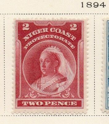 Niger Coast Protectorate 1894 Early Issue Fine Mint Hinged 2d. 211487