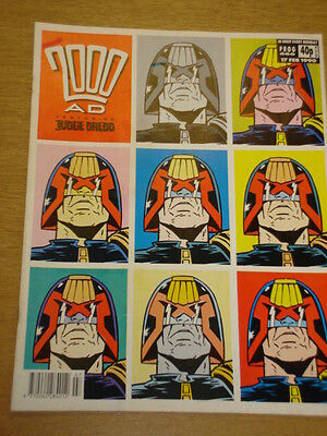 2000Ad #666 British Weekly Comic Judge Dredd *