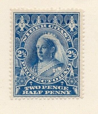Niger Coast Protectorate 1894 Early Issue Fine Mint Hinged 2.5d. 211491