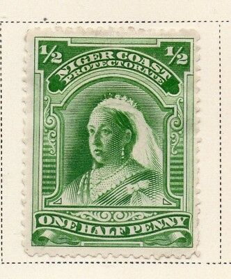 Niger Coast Protectorate 1894 Early Issue Fine Mint Hinged 1/2d. 211485