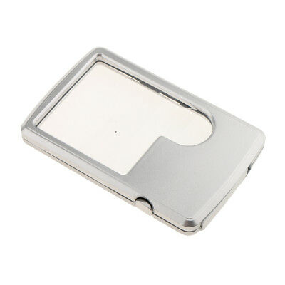 3X 6X Magnifying Square Eye Loupe Lens Magnifier Magnification Jewelers Tool
