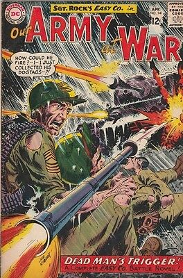 Our Army at War 141 strict 1964 VG/FN+ Mid-Grade Easy Company Sgt.Rock & more up