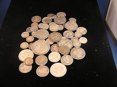 U.S.90 % Silver Circulated Old Coins  $11.00 Face Very Nice Mix