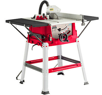 Lumberjack TS254SL 10 Inch Bench Table Saw with side extensions 250mm
