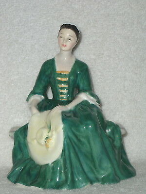"""ROYAL DOULTON  Retired """" A Lady From Williamsburg """" Figurine HN 2228"""