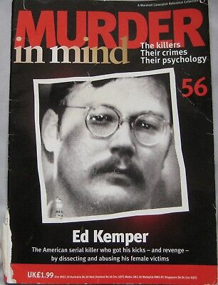 Murder in Mind magazine Issue 56 - Ed Kemper