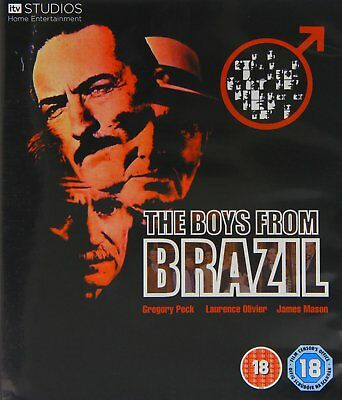 The Boys From Brazil (1978) Blu-Ray BRAND NEW Free Shipping