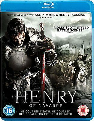 HENRY OF NAVARRE (2010) Blu-Ray BRAND NEW Free Ship READ ITEM DESCRIPTION
