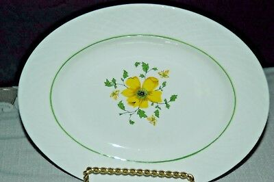 """Enoch Wedgwood Jacqueline Oval 12"""" Serving Platter- Made in  England -MINT"""