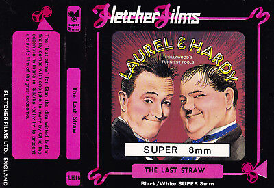 SUPER 8 Home Movie Film LAUREL & HARDY The Last Straw