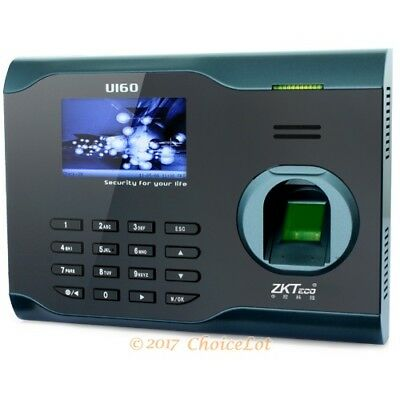 NEW Biometric Fingerprint Attendance System+USB Data Record+TCP/IP+WIFI Function